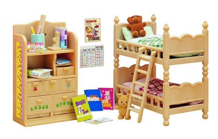 Sylvanian Families 4254 Nábytek do dětského pokoje