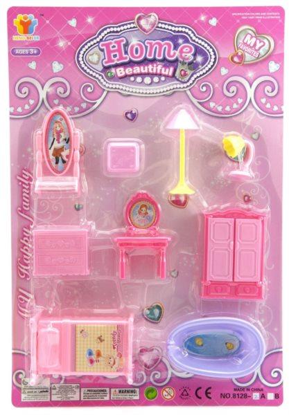 Nábytek pro panenky - Ložnice