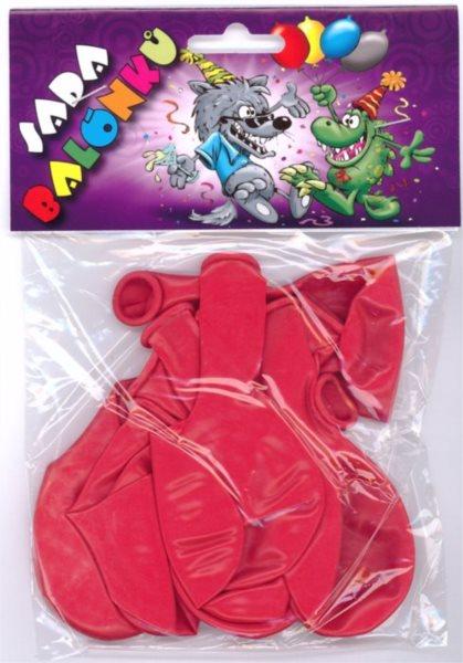 Nafukovací balónky - červené - sada 13 ks