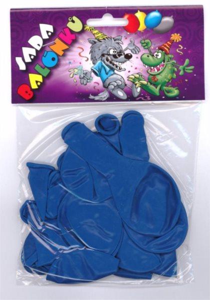 Nafukovací balónky - modré - sada 13 ks