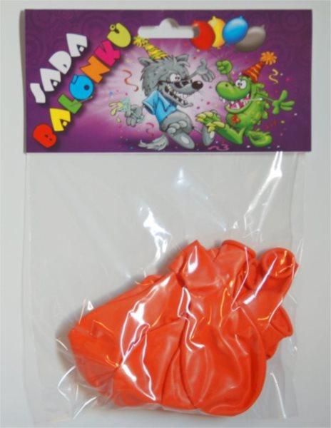 Nafukovací balónky - oranžové - sada 13 ks