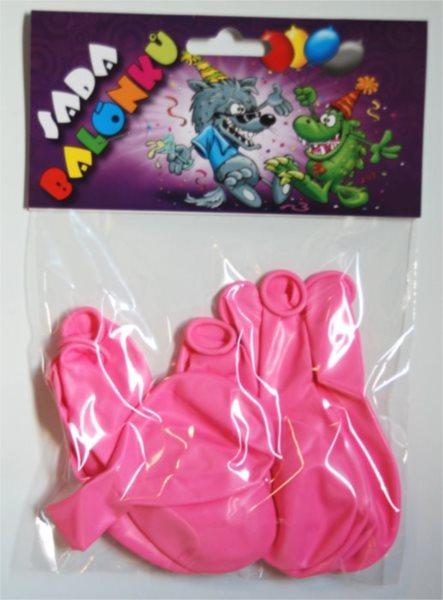 Nafukovací balónky - růžové - sada 13 ks