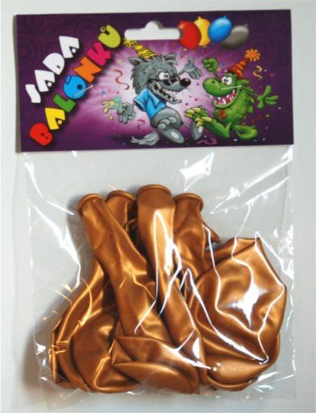 Nafukovací balónky - zlaté - sada 13 ks