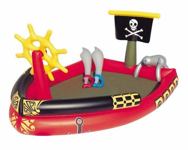 BESTWAY Nafukovací bazén Pirátská loď
