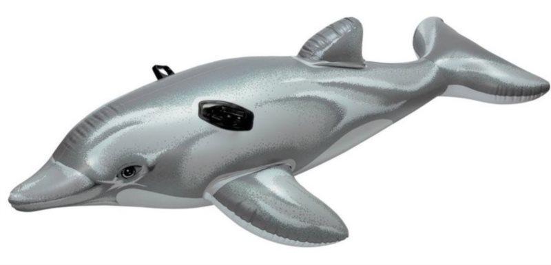 INTEX Nafukovací delfín s držadly - vodní vozidlo