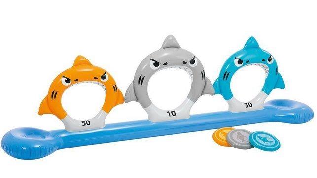 Nafukovací hra Žralok s disky