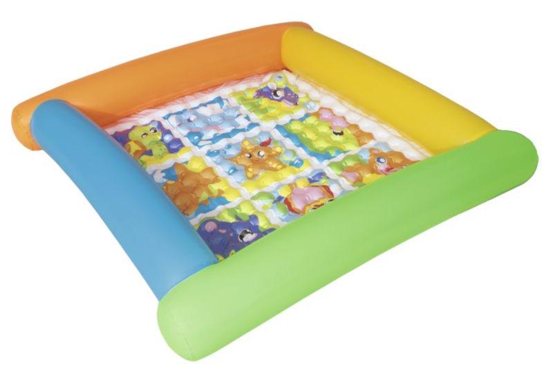 BESTWAY Nafukovací bazének Zvířátka 132x132x23cm