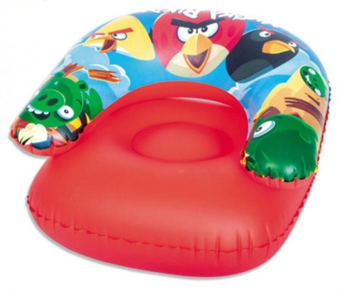 BESTWAY Nafukovací křeslo do vody - Angry Birds