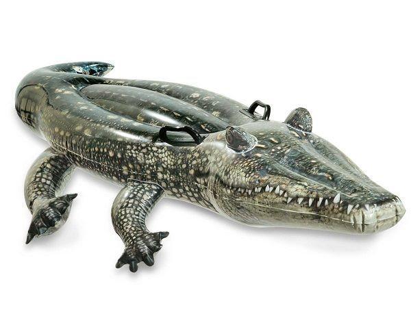 Nafukovací krokodýl s držadly