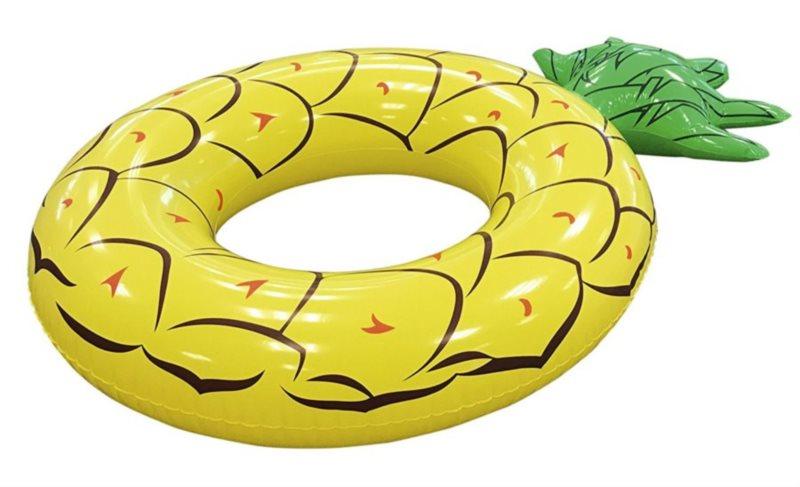 BESTWAY Nafukovací kruh Ananas 179x117cm