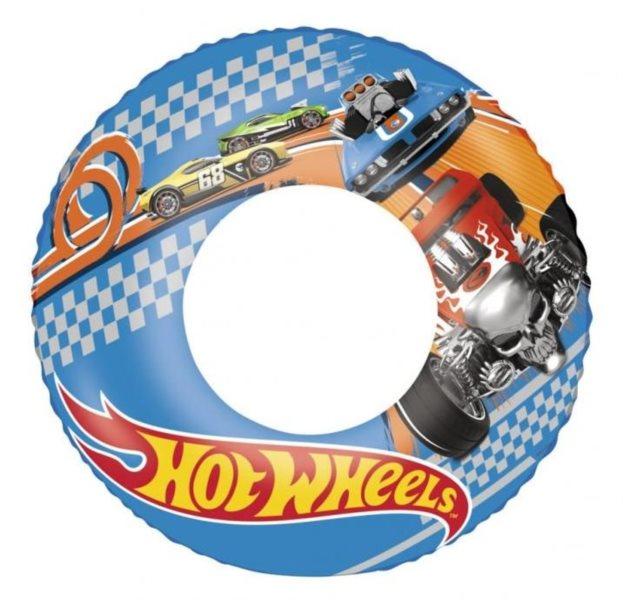BESTWAY Nafukovací kruh Hot Wheels 56cm