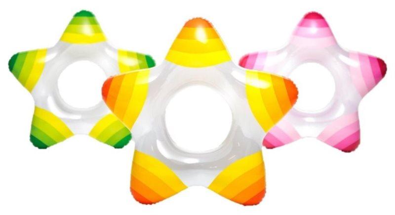 INTEX Nafukovací kruh Hvězda 3-6 let