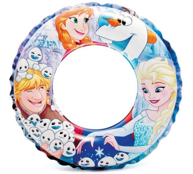 Nafukovací kruh Ledové království