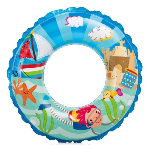 INTEX Nafukovací kruh Potapěč 61 cm