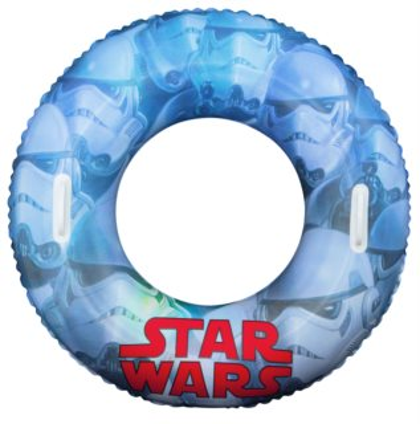 BESTWAY Nafukovací kruh s madly Star Wars 91 cm