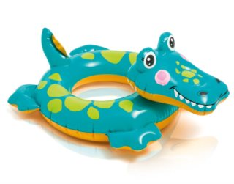 INTEX Nafukovací kruh Veselý krokodýl