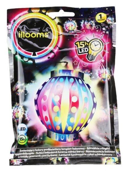 ILLOOMS Nafukovací LED balónek - Lampion 1 ks