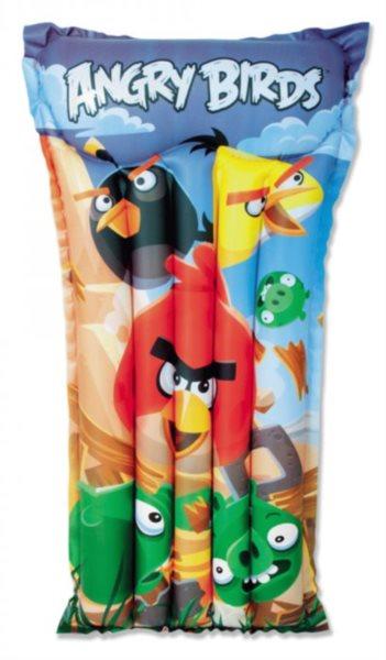 BESTWAY Nafukovací lehátko Angry Birds