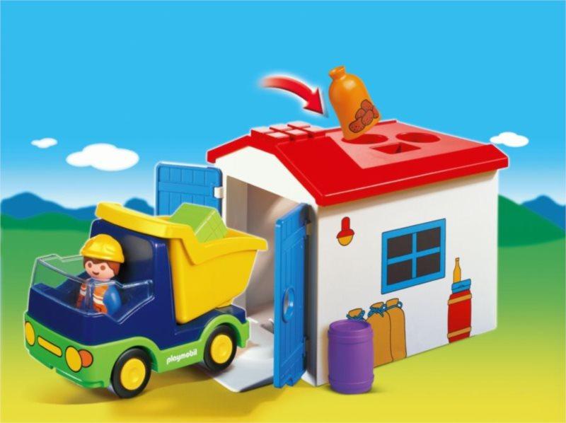 Náklaďáček s garáží (1.2.3) 6759
