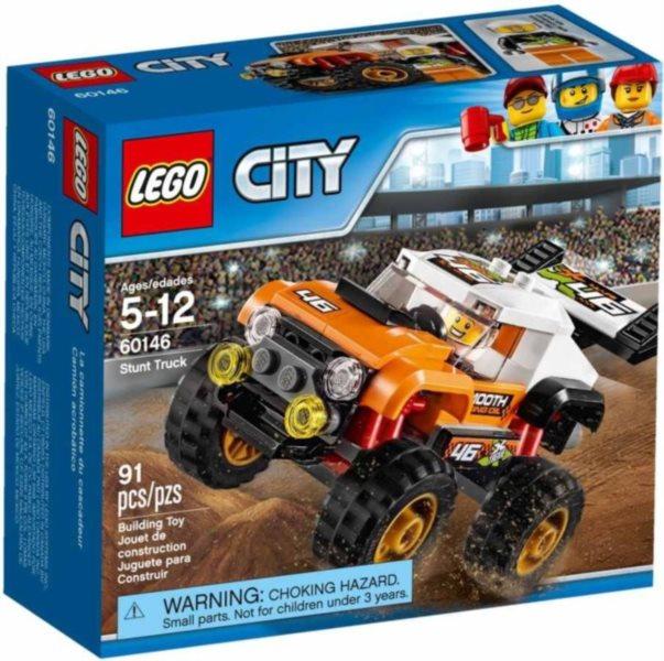 Stavebnice LEGO® City 60146 Náklaďák pro kaskadéry