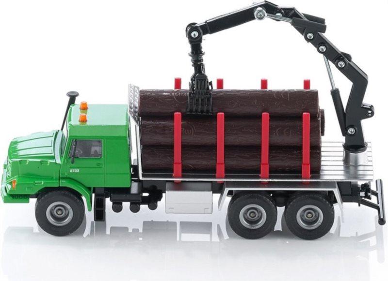 SIKU 2714 Nákladní auto s kládami (1:50)