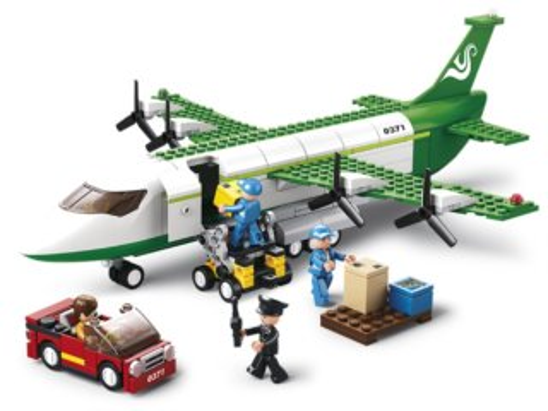 Stavebnice SLUBAN Nákladní letadlo