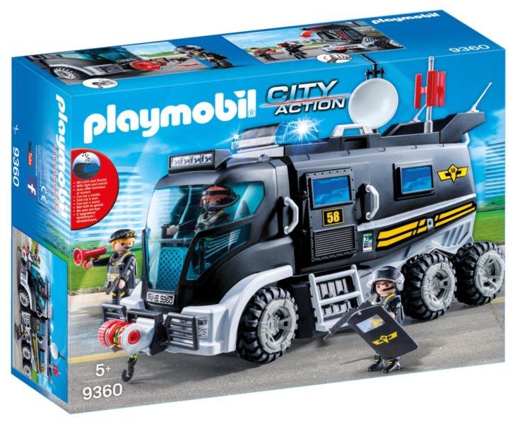 PLAYMOBIL® City Action 9360 Nákladní vozidlo speciální jednotky