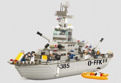 Stavebnice SLUBAN Námořní loď