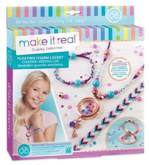 MAKE IT REAL Náramky a náhrdelník - medailonek