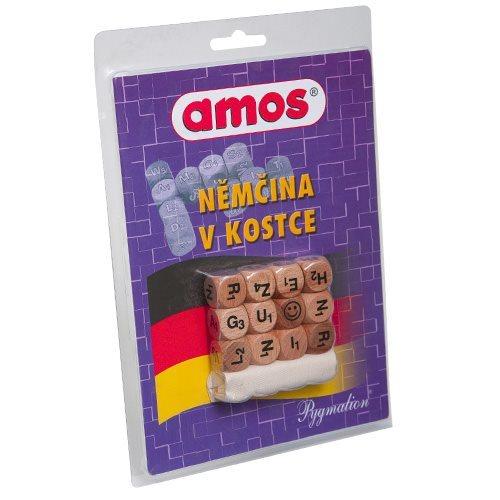 Kostková hra AMOS Němčina v kostce