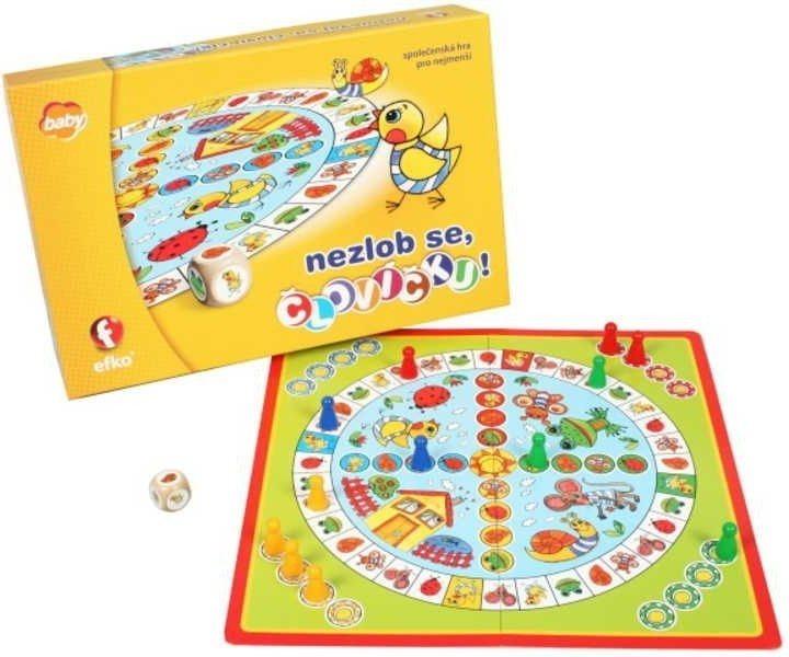 Dětská společenská hra Nezlob se, človíčku!, EFKO