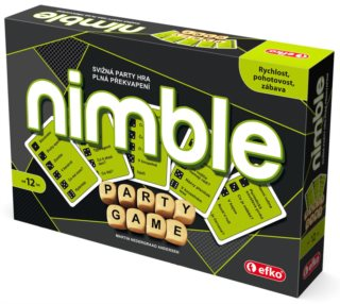 Společenská hra Nimble, EFKO
