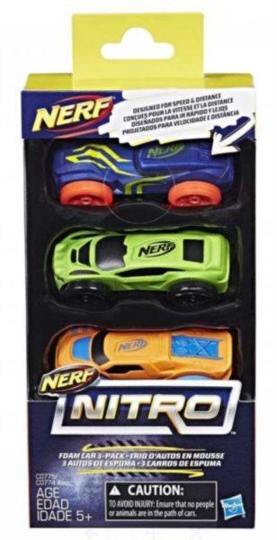 NITRO Náhradní autíčka A (3 ks)
