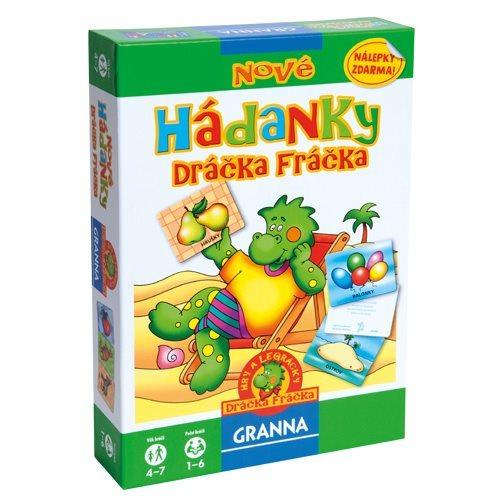 Vzdělávací hra GRANNA Nové hádanky dráčka Fráčka