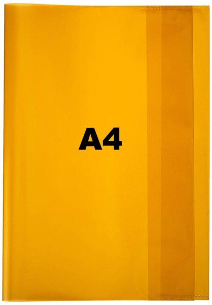 PELIKAN Obal na sešit A4 žlutý