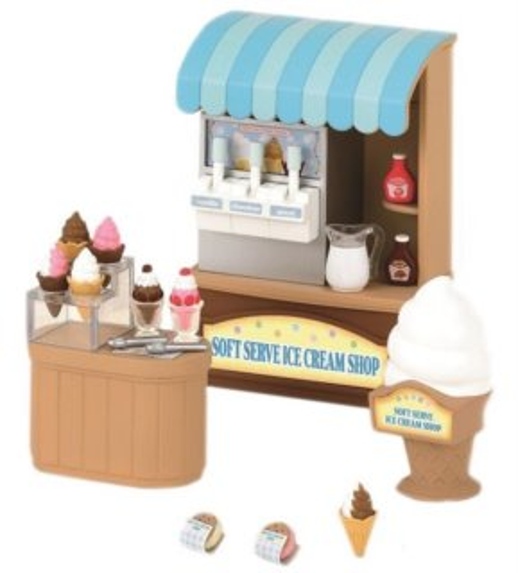 Sylvanian Families 2811 Obchod s točenou zmrzlinou
