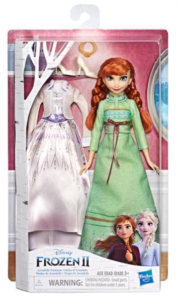 HASBRO Ledové království 2 Panenka Anna s extra šaty