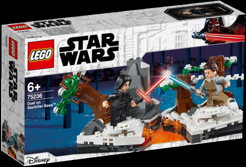 LEGO® Star Wars™ 75236 Duel na základně Hvězdovrah