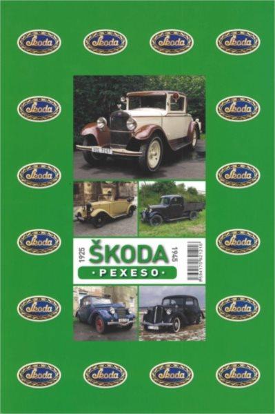 Rodinná hra Pexeso: Škoda 1925-1945
