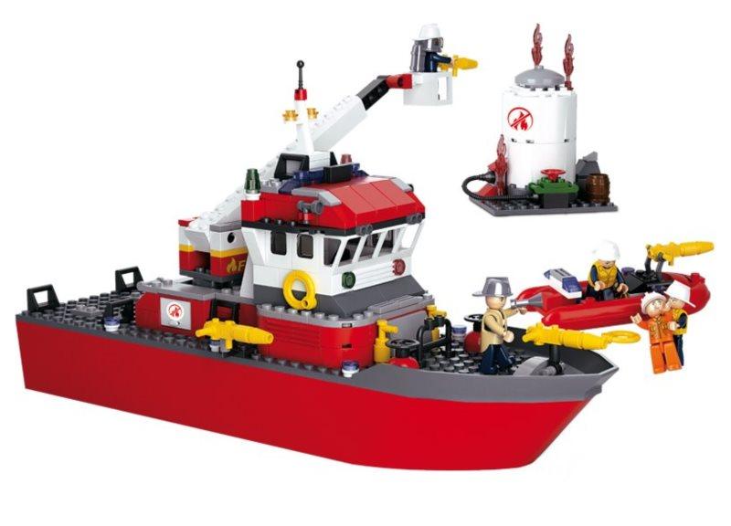 Stavebnice SLUBAN Záchranná loď