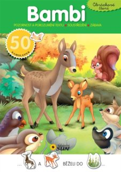 Obrázkové čtení: Bambi