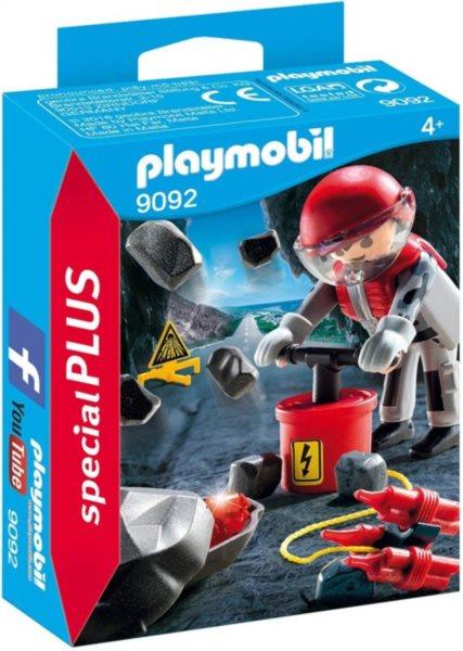 PLAYMOBIL Odstřelovač skály 9092