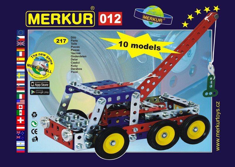 Stavebnice MERKUR - Odtahové vozidlo M012