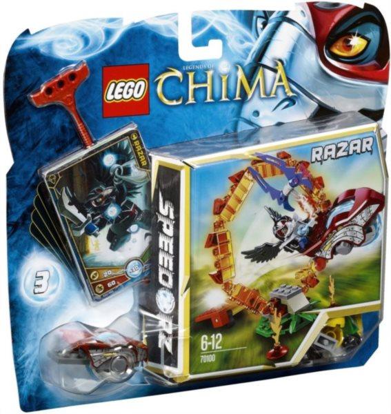Stavebnice LEGO® Chima 70100 Ohnivý kruh