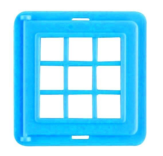 Magnetická stavebnice MAGFORMERS Okno dělené (modré) 1 kus