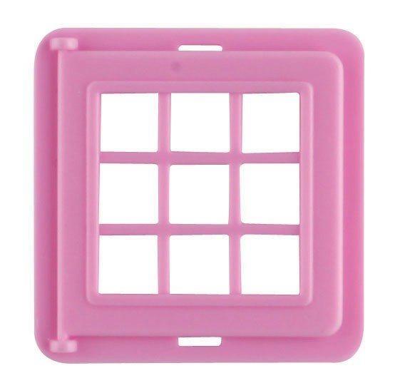 Magnetická stavebnice MAGFORMERS Okno dělené (růžové) 1 kus