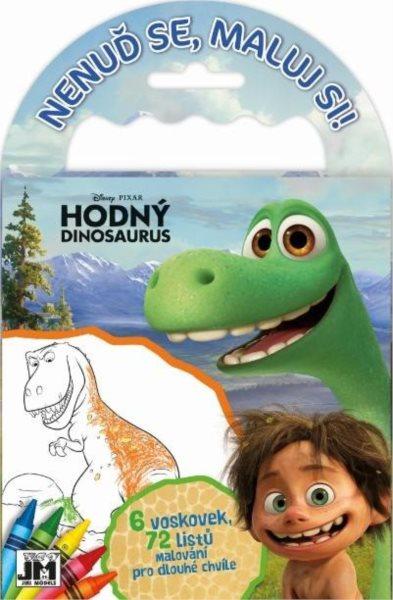 JIRI MODELS Omalovánky na cesty Hodný dinosaurus