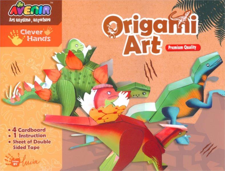 Origami obrázky - Dinosauři