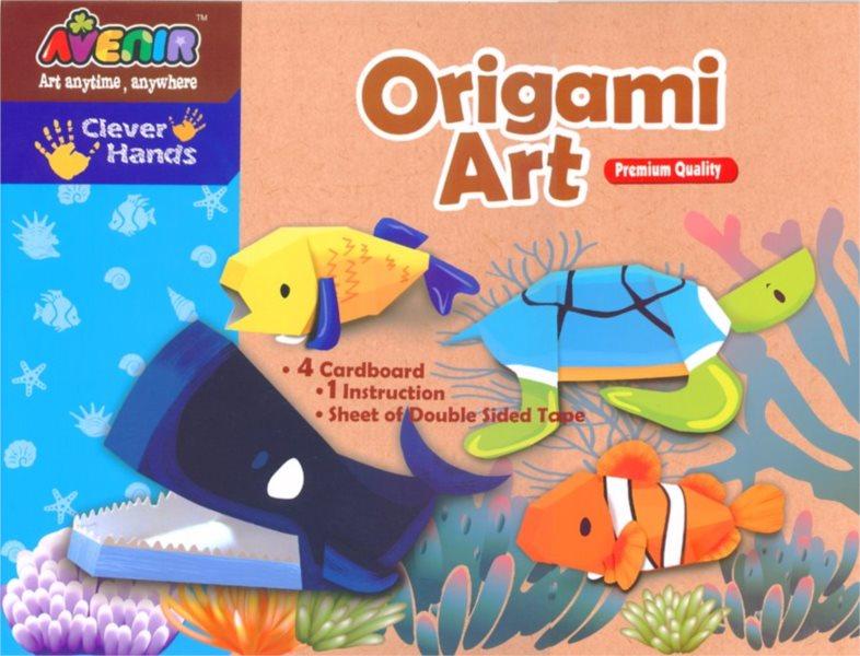Origami obrázky - Podvodní svět