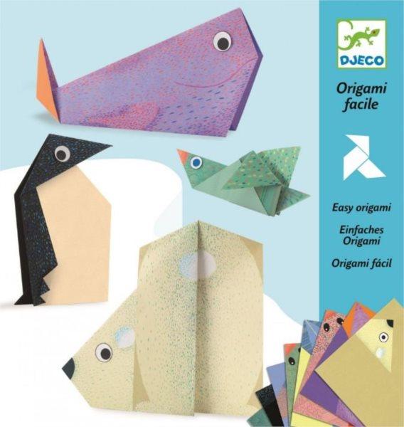 DJECO Origami Polární zvířátka